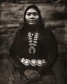 navajo,woman,calandra,etsitty,hubbell,trading,post,ganado,arizona,wet,plate,collodion,tintype