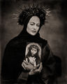 the,modern,madonna,chicago,wet,plate,collodion,tintype,portrait