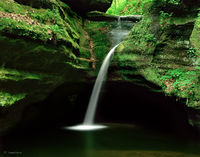 canyon,grace,illinois,waterfall
