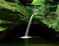 canyon,grace,illinois,waterfall