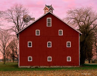 folk,art,barn,indiana
