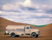 Old Gasoline Truck