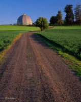 country,road,washington,round,barn