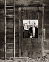 american,gothic,illinois,barn,interior