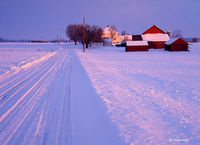 indiana,crossroads,farm,winter