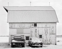 studebaker,barn,indiana,winter