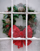 farmhouse,wreath,indiana