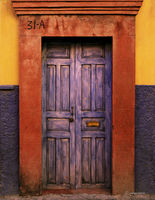 blue,door,mexico,colonial