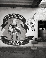 old,trading,post,abandoned