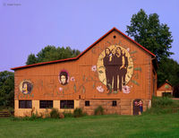 beatles,barn,ohio