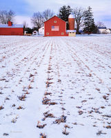 american,farm,indiana,winter