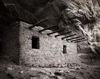 wooden,beam,ruin,colorado,plateau,ancestral,puebloan,dwelling