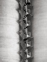 silo,staircase,illinois