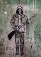 geronimo,southwest,old,prison,drawing