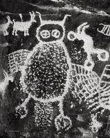 ancient,wiseman,Utah,owl,petroglyph