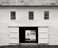 shaker,barn,new,england