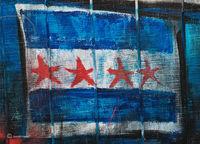 chicago,flag,street,art,graffiti