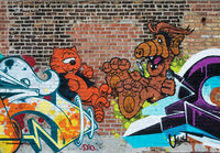 alf,heathcliff,street,art,chicago