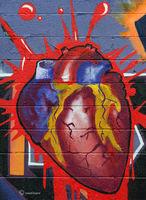 chicago,street,art,heart,Beloved