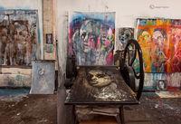 artist,studio,III,chicago,corinna,button