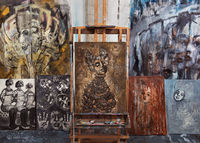 artist,studio,chicago