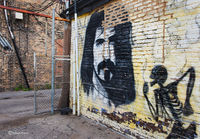 ghost,frank,zappa,chicago,street,art,mural,graffiti