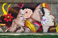 chicago,street,art,women,pilsen
