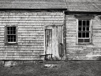 back,door,olson,house,maine