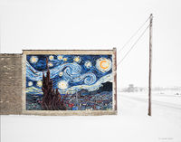 starry,night,van,gogh,winter,christmas,wisconsin