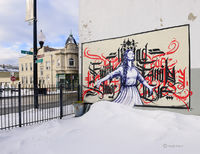 pilsen,street,art,chicago,winter