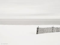 snow,fence,lake,michigan,the,great,lake,thegreatlake