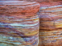 colorful,aztec,sandstone,formation,southwest,usa