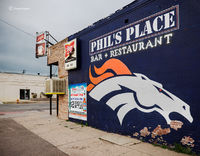 Denver Bronco Street Art