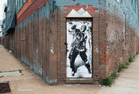 door,man,chicago,street,art