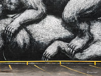 parking,lot,ROA,mural,detail,rochester,new,york