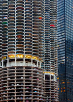 futurama,marina,towers,chicago,christmas