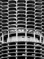 marina,towers,chicago,futurama