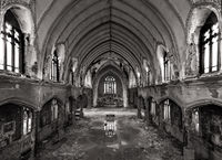 abandoned, faith,church