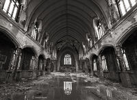 abandoned,faith,decaying,church