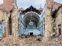 apocalypse,razing,st,dominics,church,chicago