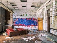 classroom,destruction,abandoned,school,rust,belt