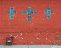 three-crosses,storefront,church,chicago