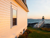 the,lightkeepers,view,maine,lighthouse,sun set