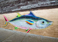 chicago,street,art,fish