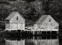 old,fising,shacks,nova,scotia