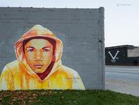 RIP,trayvon,martin,memorial,detroit,street,art