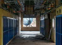 hallway,abandoned,school,rust,belt