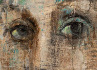 eyes,painting,detail,corinna,button,studio,chicago