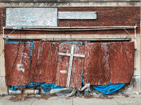 cross,abandoned,southside,chicago,church