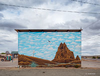urban,shiprock,mural,new,mexico
